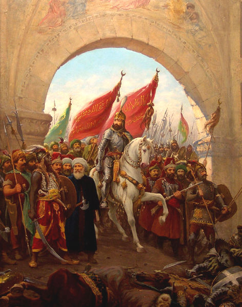 1453, Mehmed II, Entering to Constantinople