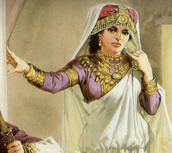 Queen Zenobia from Rome's Enemies  The Desert Frontier